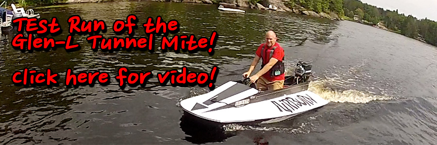 THIS CLASSIC TUNNEL HULL TAKES TO KAHSHE LAKE FOR A WILD TEST RUN!   CLICK HERE FOR VIDEO!