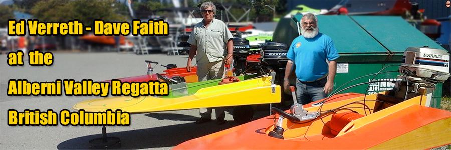 Ed Verreth and Dave Faith - Our Muskoka Seaflea British Columbia Chapter