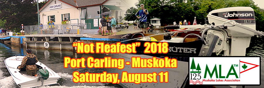 We're Taking A Year Off This Year, But We'll Still Be At The MLA Boat Show In Port Carling!